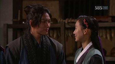 Warrior Baek Dong Soo Korean Drama - Ji Chang Wook and Shin Hyun Bin