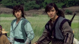 Warrior Baek Dong Soo Korean Drama - Ji Chang Wook and Yoo Seung Ho