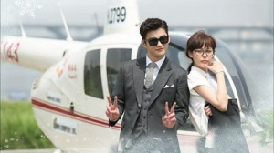 High School King of Savvy Korean Drama - Seo In Guk and Lee Ha Na