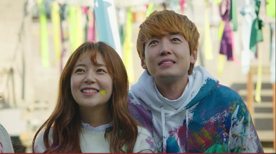 Missing 9 Korean Drama - Jung Kyung Ho and Baek Jin Hee