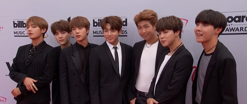 BTS - Rap Monster, V, Jin, Jimin, Jungkook, Suga, J-hope 2017 Billboard Music Awards: Top Social Artist - Kpop