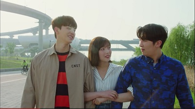 Liar and His Lover Korean Drama - Joy, Song Kang, and Park Jong Hyuk