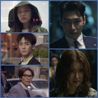Lookout Korean Drama - Kim Young Kwang, Lee Shi Young, Kim Seul Gi, Key, Kim Tae Hoon