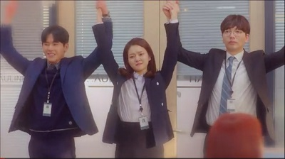 Radiant Office Korean Drama - Go Ah Sung, Hoya, Lee Dong Hwi