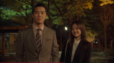 Radiant Office Korean Drama - Ha Suk Jin and Go Ah Sung