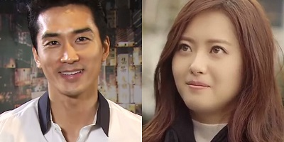 Black Korean Drama - Song Seung Heon and Go Ara