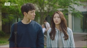 Circle: Two Worlds Connected Korean Drama - Yeo Jin Goo and Gong Seung Yeon