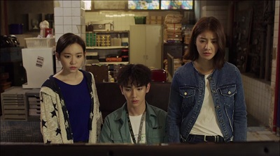 Lookout Korean Drama - Lee Shi Young, Key, and Kim Seul Gi
