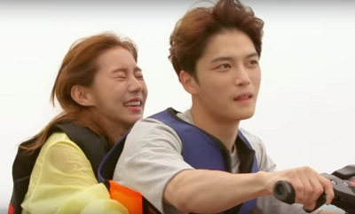 Manhole Korean Drama - Jaejoong and UEE