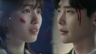 While You Were Sleeping Korean Drama - Lee Jong Suk and Suzy