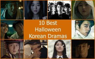 10 Best Halloween Korean Dramas - Lee Joon Gi, Seo Ye Ji, Sung Joon, Kim Woo Bin, Kim Sae Ron, Kim So Hyun, Taecyeo, Gong Yoo, Park Bo Young, Jo Jung Suk, So Ji Sub