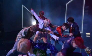 BTS - Rap Monster, V, Jin, Jimin, Jungkook, Suga, J-hope 24 (AMAs - American Music Awards 2017)
