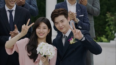 While You Were Sleeping - Lee Jong Suk and Suzy 20