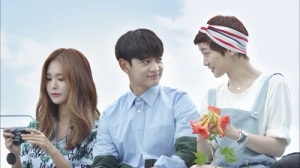 Because It's the First Time Korean Drama - Choi Minho, Park So Dam, Eugene Jung