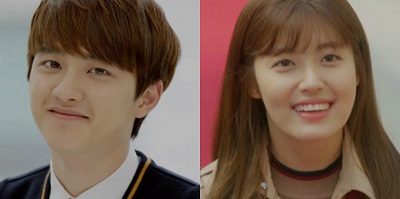 Hundred Day Husband Korean Drama - D.O. and Nam Ji Hyun