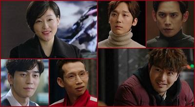 Return Korean Drama - Park Ki Woong, Shin Sung Rok, Bong Tae Gyu, Yoon Jong Hoon, Lee Jin Wook, Park Jin Hee