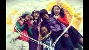 Stars Falling From the Sky Korean Drama - Choi Jung Won, Park Ji Bin, Chun Bo Geun, and Kids 2