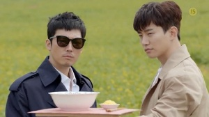 Greasy Melo Korean Drama - Jang Hyuk and Junho