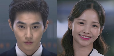 Rich Man Korean Drama - Suho and Ha Yeon Soo