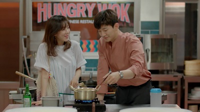 Greasy Melo (Wok of Love) Korean Drama - Junho and Jung Ryeo Won