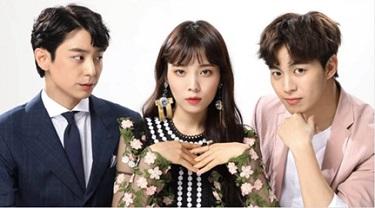 Witch's Love Korean Drama - Hyun Woo and Yoon So Hee