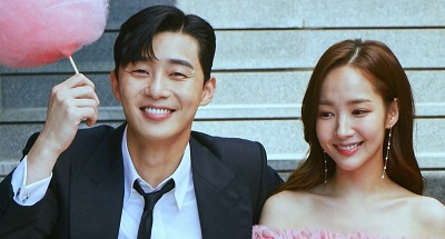 What's Wrong With Secretary Kim Korean Drama - Park Seo Joon and Park Min Young