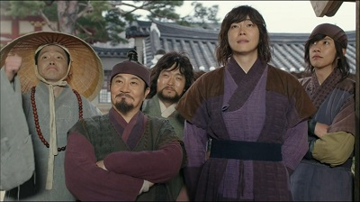 Rebel Thief Who Stole the People Korean Drama - Yoon Kyun Sang, Lee Joon Hyuk, Park Jun Gyul, Heo Jung Do, Lee Myung Hoon