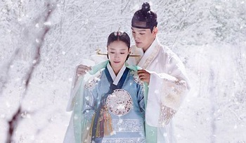 The Crowned Clown Korean Drama - Yeo Jin Goo and Lee Se Young