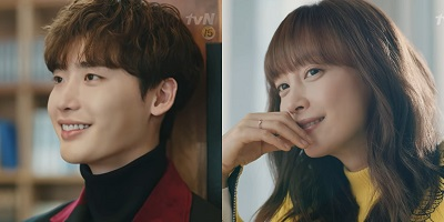 Romance is a Bonus Book Korean Drama - Lee Jong Suk and Lee Na Young