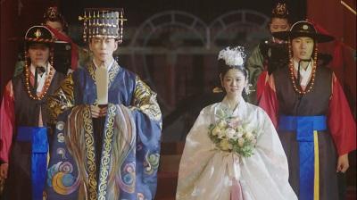 The Last Empress Korean Drama - Shin Sung Rok and Jang Nara