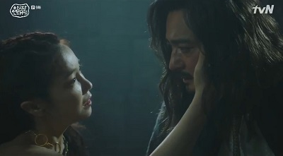 Arthdal Chronicles Korean Drama - Jang Dong Gun and Kim Ok Bin