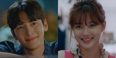 Convenience Store Saet Byul Korean Drama - Ji Chang Wook and Kim Yoo Jung