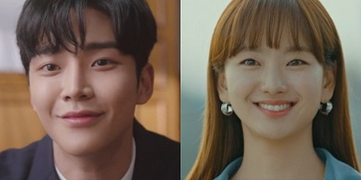Sunbae, Don't Put on That Lipstick Korean Drama - Rowoon and Won Jin Ah