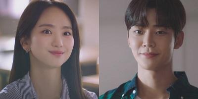 Sunbae, Don't Put on That Lipstick Korean Drama - Rowoon and Won Jin Ah