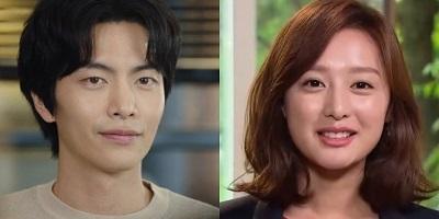 Lee Min Ki and Kim Ji Won