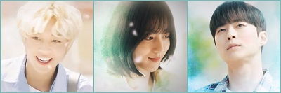 At a Distance, Spring is Green Korean Drama - Park Ji Hoon, Kang Min Ah, Bae In Hyuk