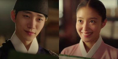 The Red Sleeve Cuff Korean Drama - Junho and Lee Se Young